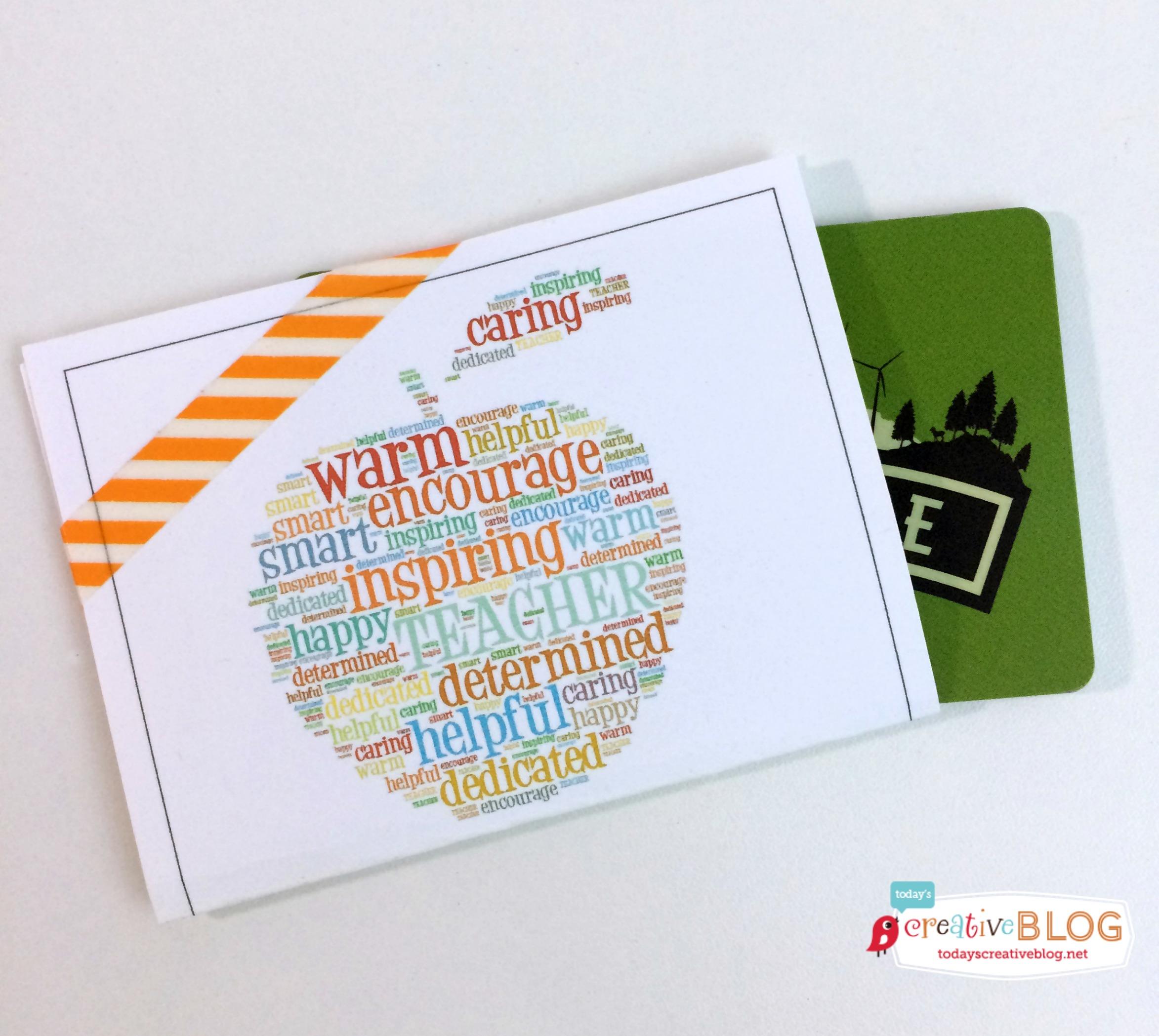 Teacher Gift Card Holders Skip To My Lou
