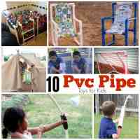 10 PVC Pipe Toys for Kids | Skip To My Lou