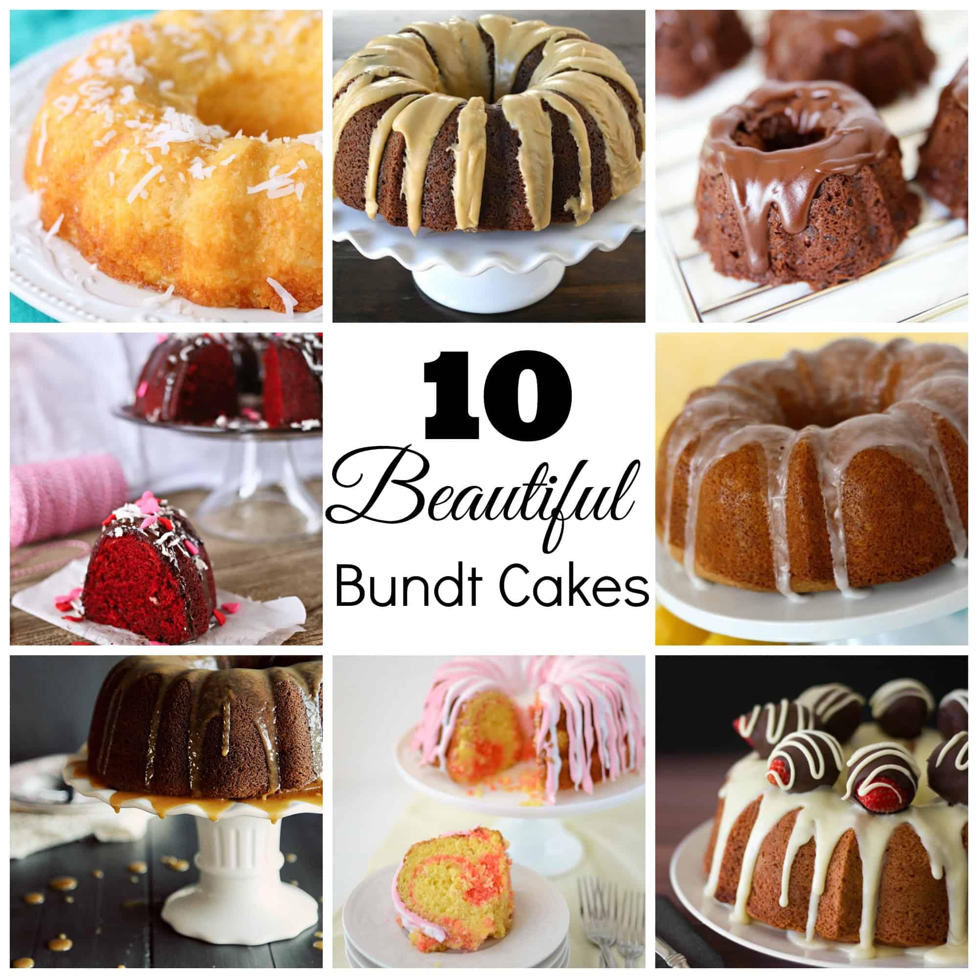 10 Beautiful Bundt Cake Recipes Skip To My Lou