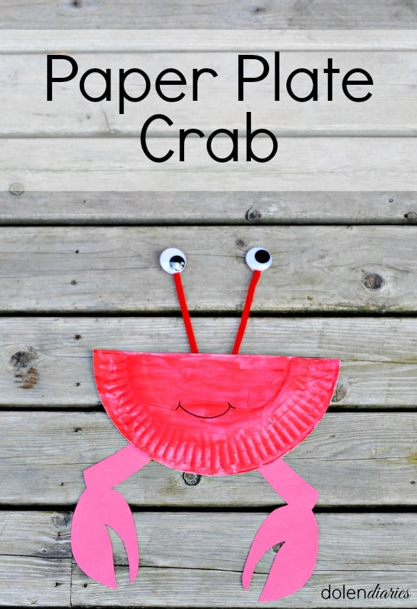 These arts will increase their artistic skills as well as utilize their free time. Paper Plate Crab Craft Skip To My Lou