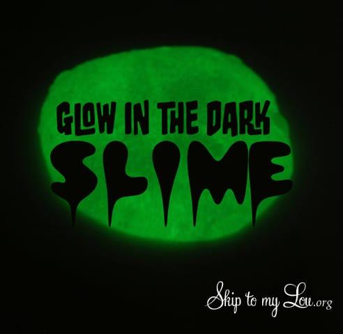 Glow In The Dark Slime Skip To My Lou