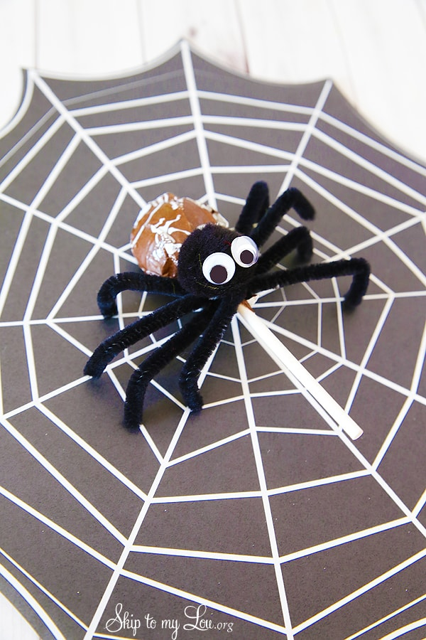 Tootsie Pop Pipe Cleaner Spider Skip To My Lou