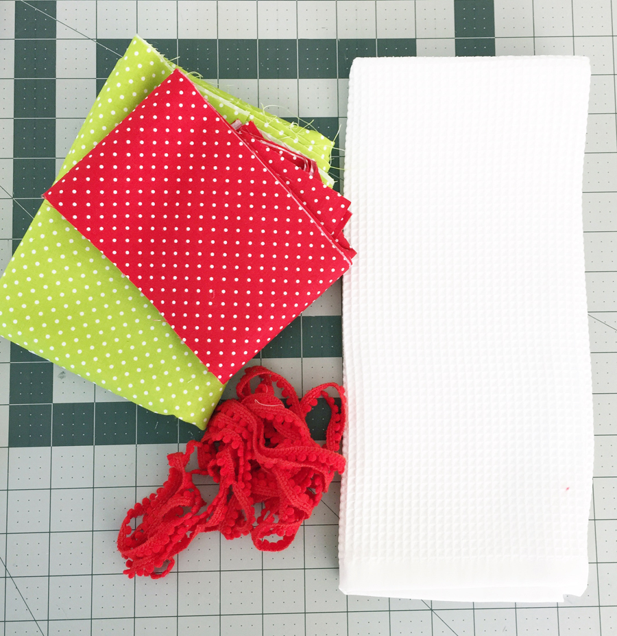 materials dishtowel