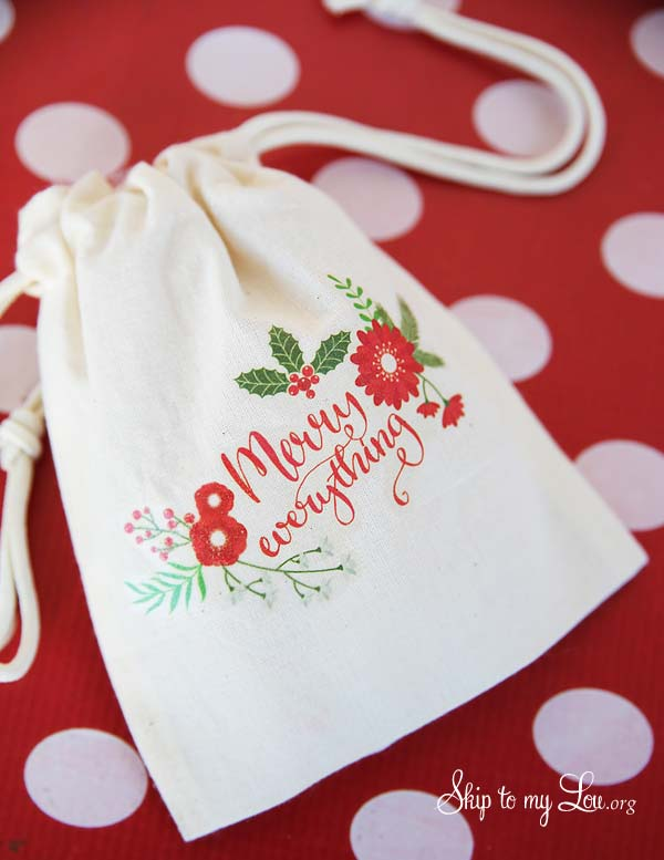 Printable Christmas Gift Bags Skip To My Lou