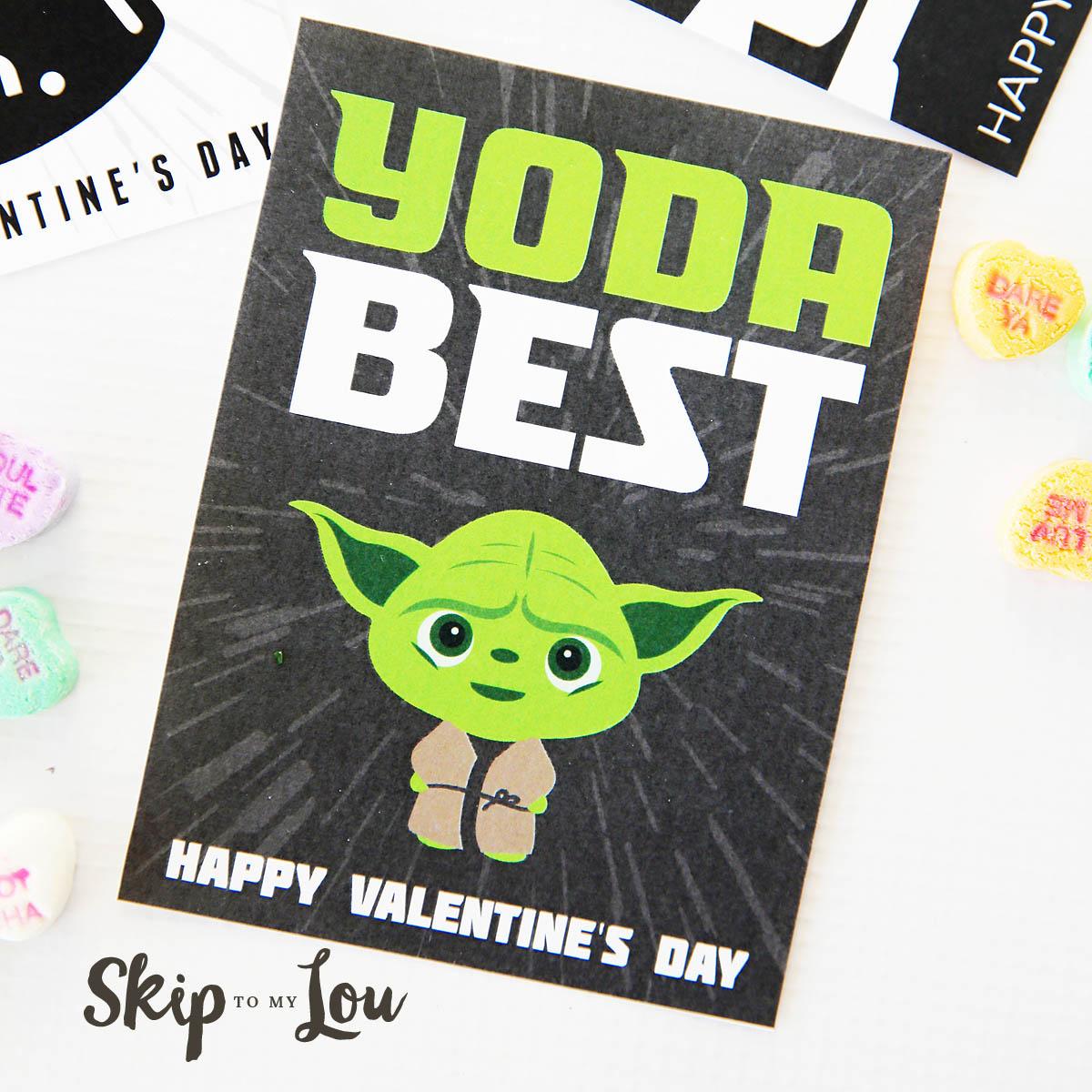 The Best Free Printable Star Wars Valentines
