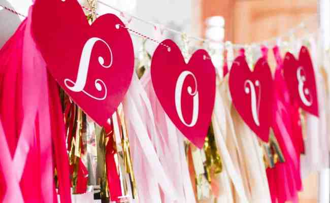 Valentine S Day Love Banner Skip To My Lou