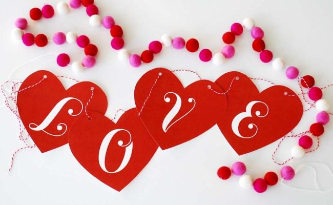 Valentine S Day Love Banner Skip To My Lou