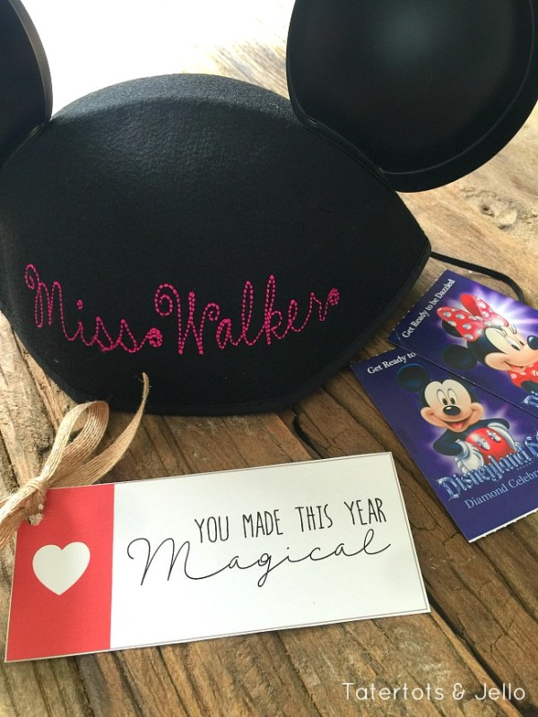 Disney-inspired magical gift itags