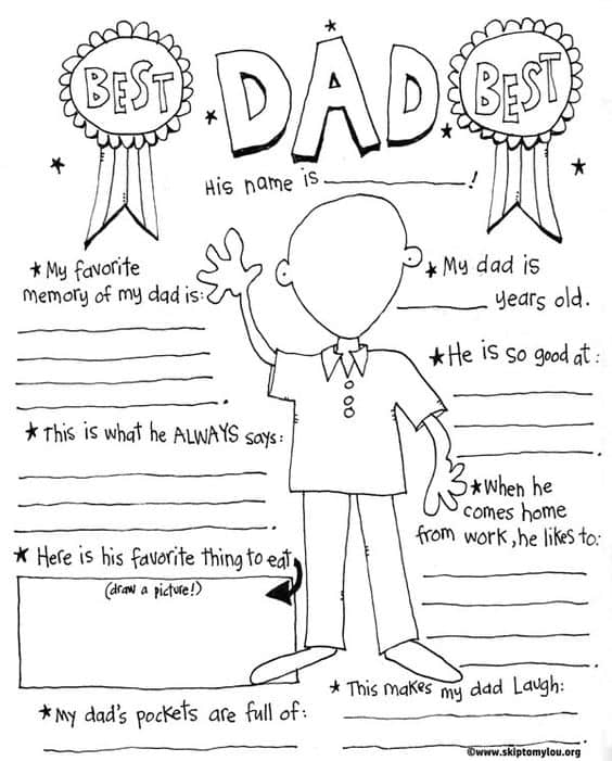 FREE printable Fathers Day Cards that are super funny!