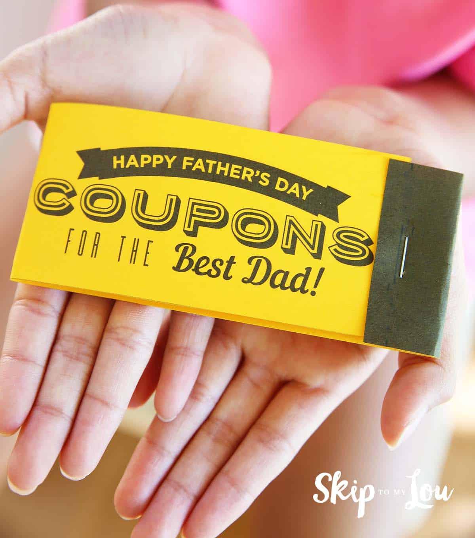 Printable Fathers Day Coupons Skip To My Lou