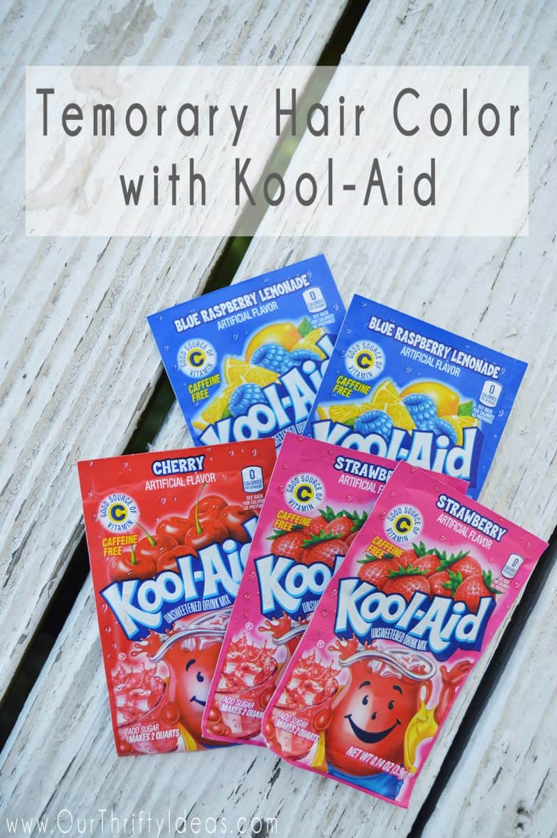 How To Dye Your Hair With Kool Aid An Easy Way To Add Fun
