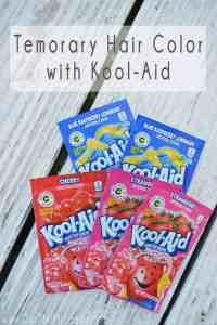 Kool Aid Hair Dye Instructions - Skip to my Lou