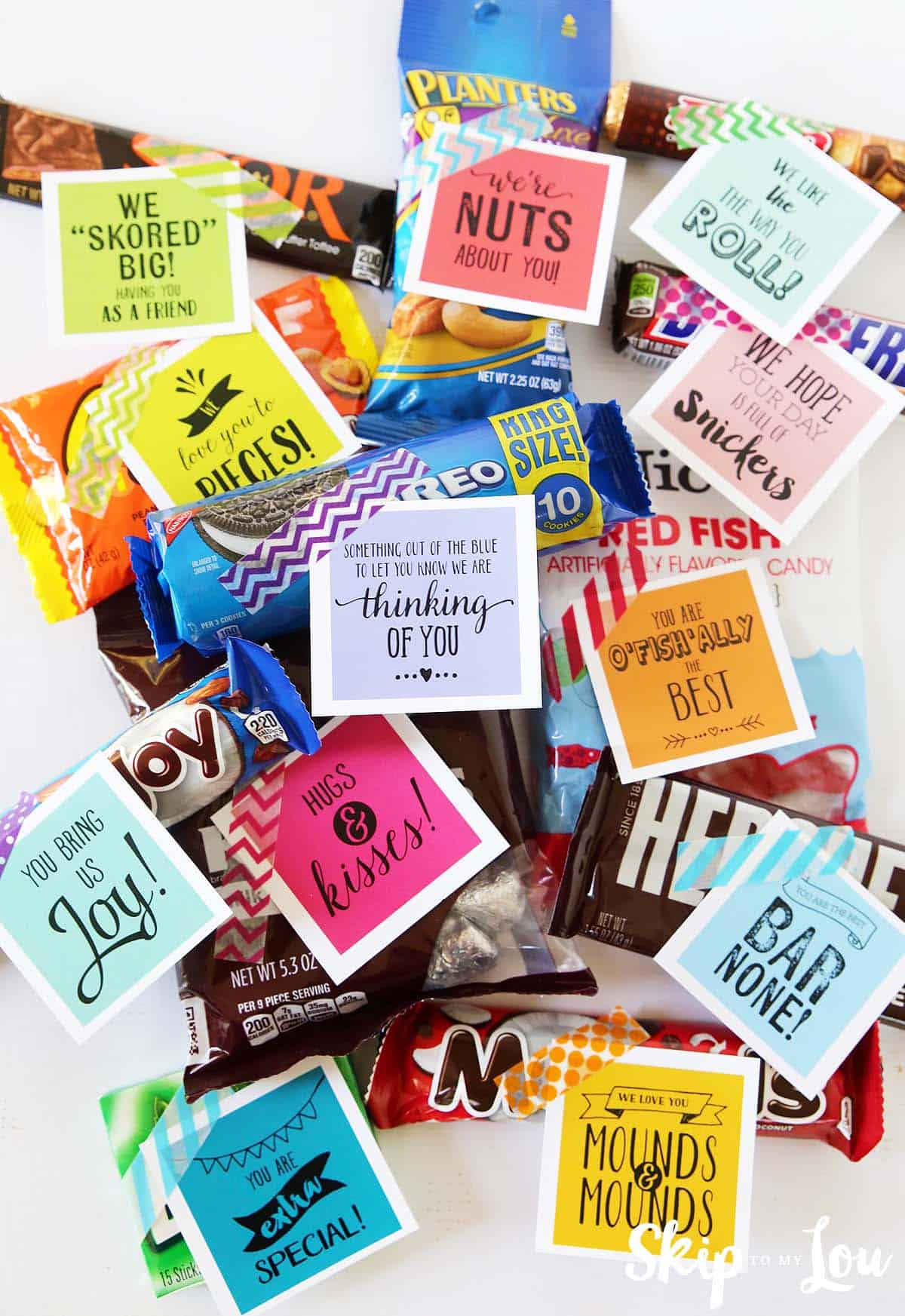 Super Sweet Care Package With Free Printable T Tags