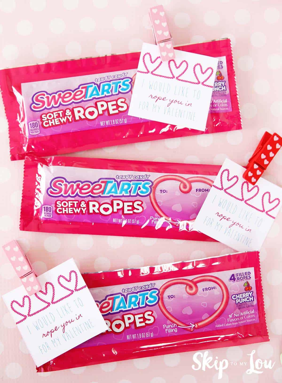 Printable Tic Tac Toe Valentine Skip To My Lou