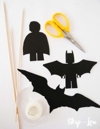 Lego Batman Shadow Puppets Printables | Skip To My Lou