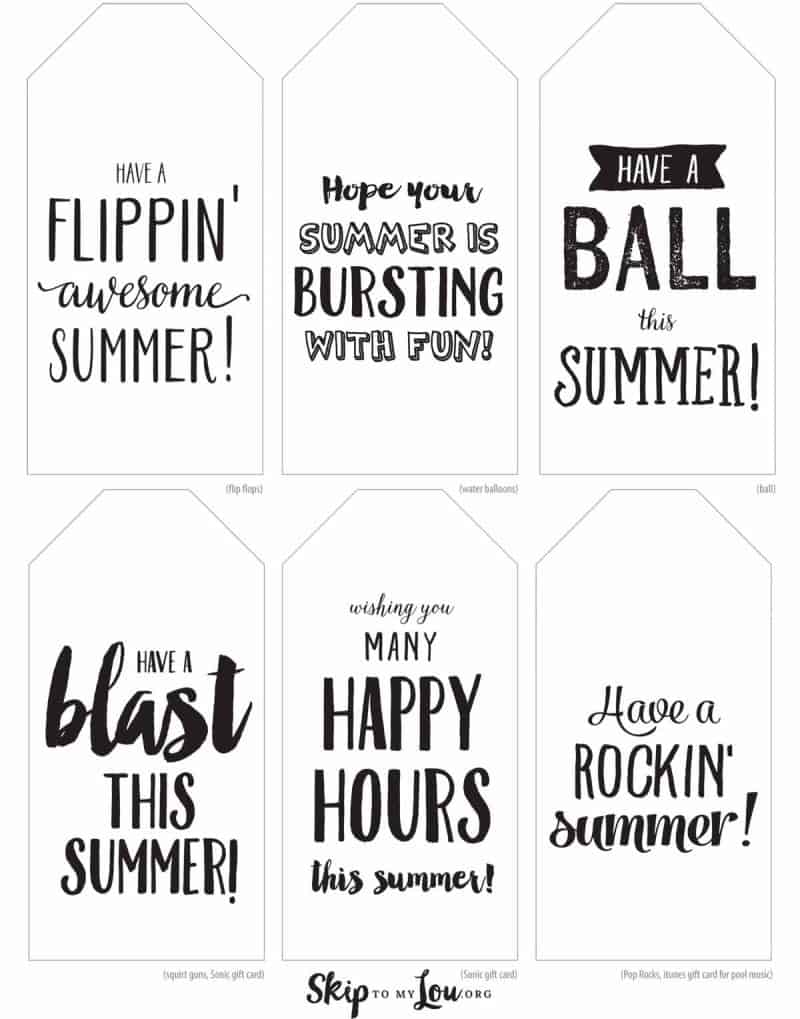 You're off to a Happy Summer with Last Day of School Gifts