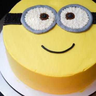 Make A Delightfully Despicable Minion Cake