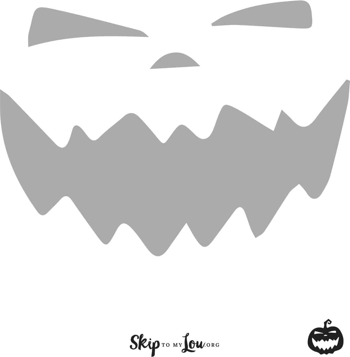 Cool Free Printable Pumpkin Carving Stencils
