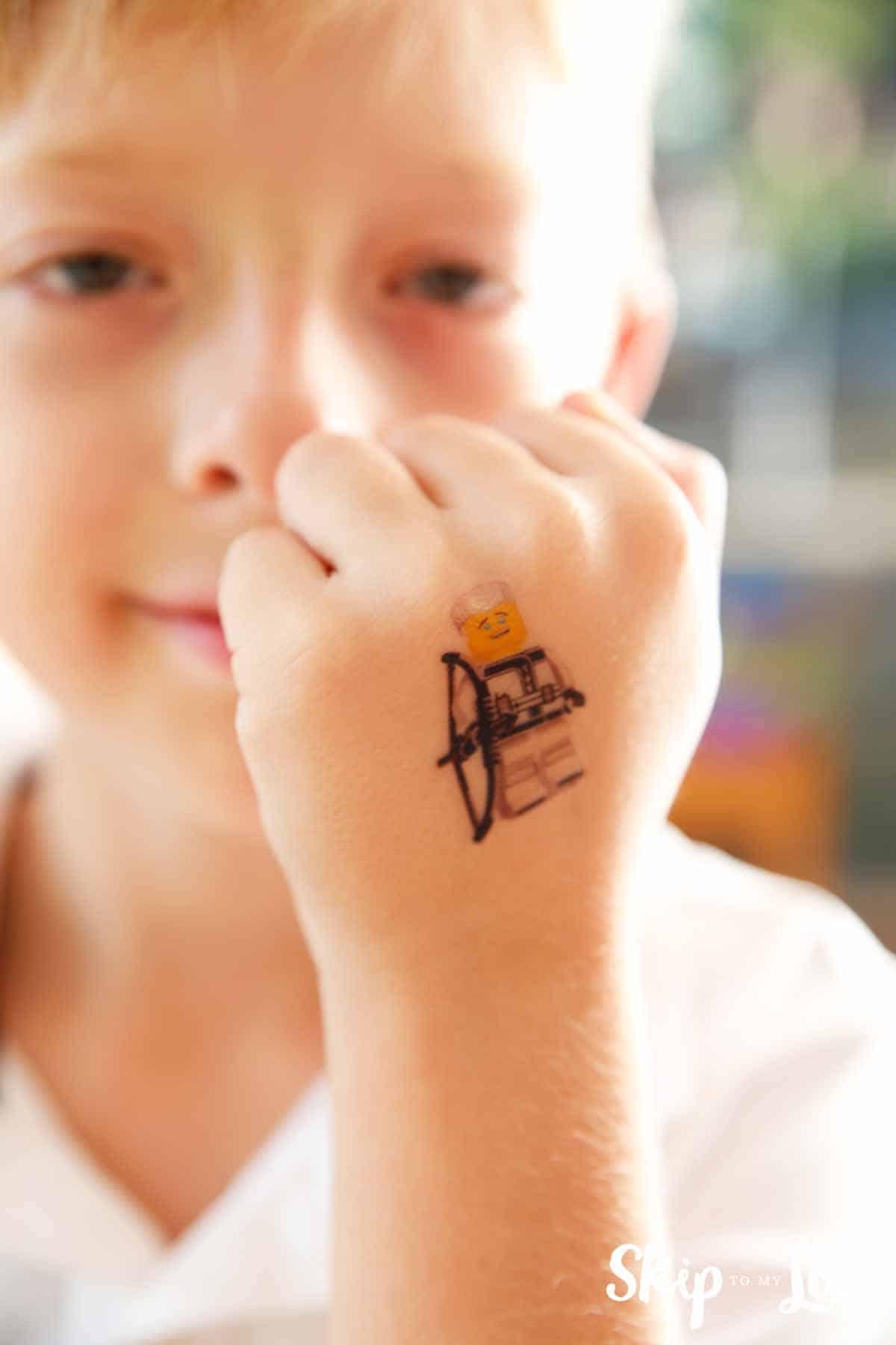 The LEGO NINJAGO Movie Tattoos Skip To My Lou