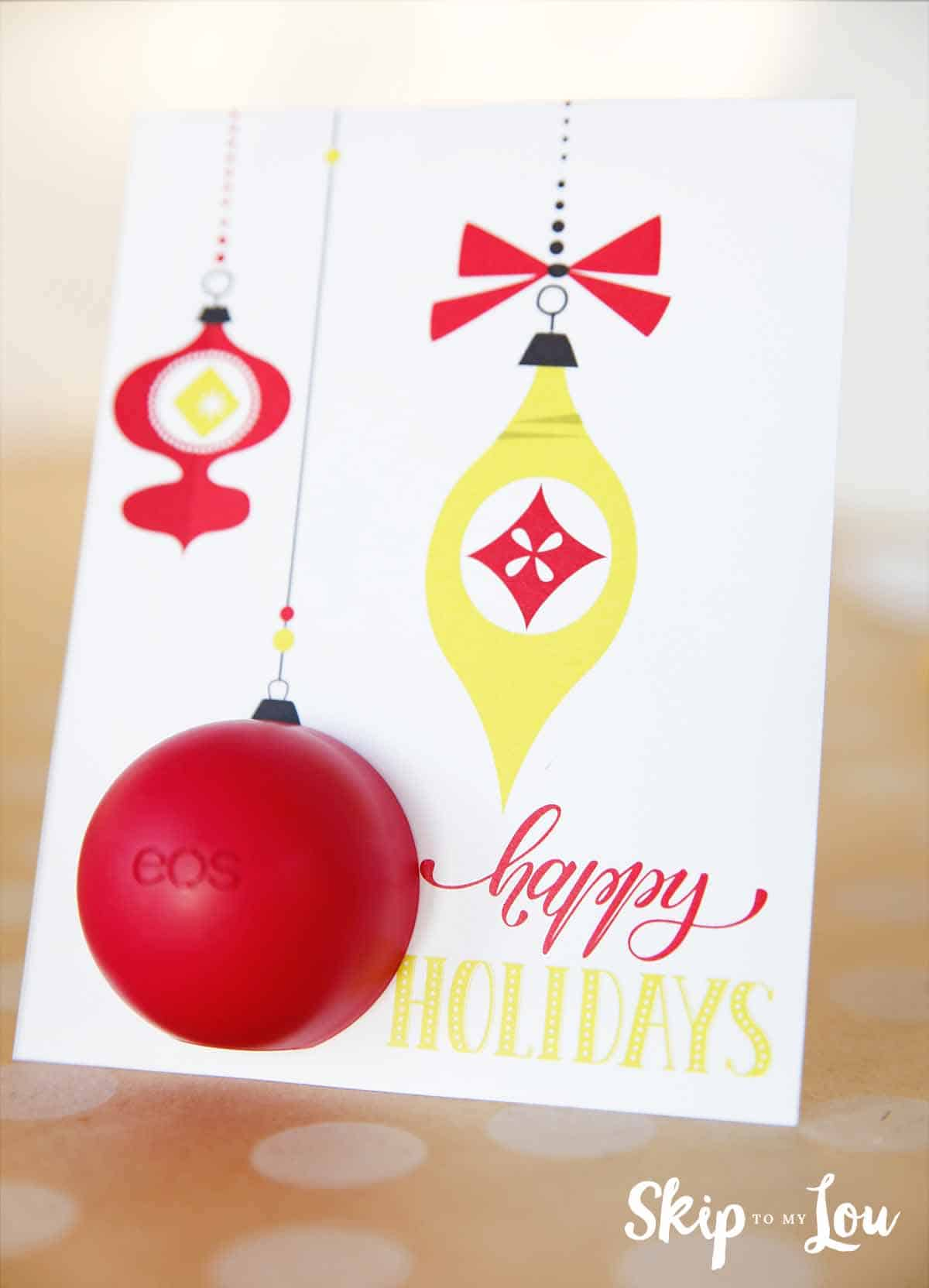 Eos Free Printable Holiday Card Skip To My Lou