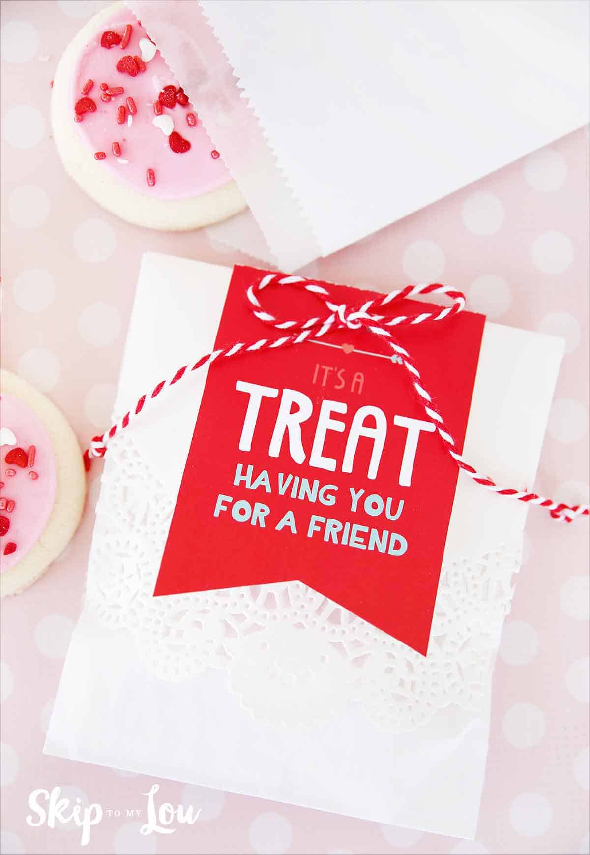 Valentines Day Tags For Your Treats Skip To My Lou