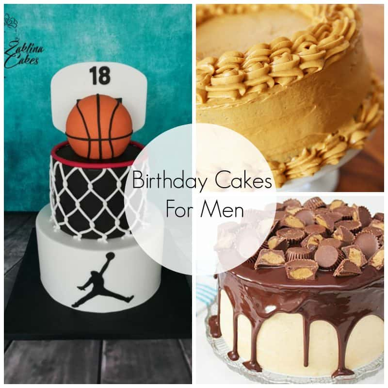 Birthday Cakes For Men Skip To My Lou