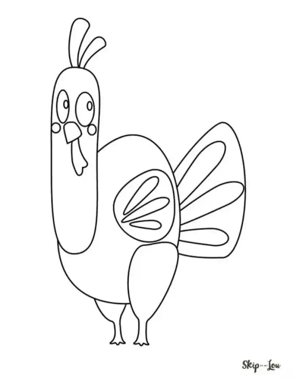 coloring pages turkey # 76