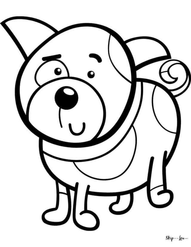 The BEST Free Dog Coloring Pages  Skip To My Lou