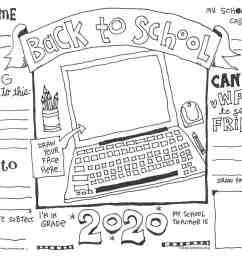 First Day of School Coloring Pages (UPDATED WITH VIRTUAL OPTION)   Skip To  My Lou [ 927 x 1200 Pixel ]