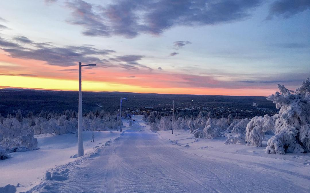 Experience the longest toboggan slope in Finland!