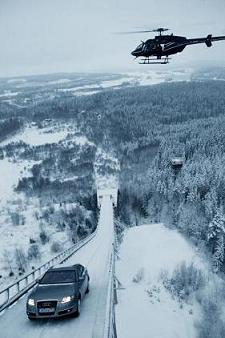 Audi brakes ski jump record again » Ski Jumping Hill