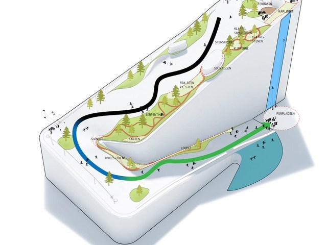Italiensk virksomhed skal levere skiunderlaget til Amager Bakke