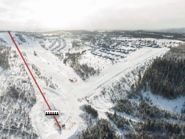 Ny expresslift og ny piste i Branäs