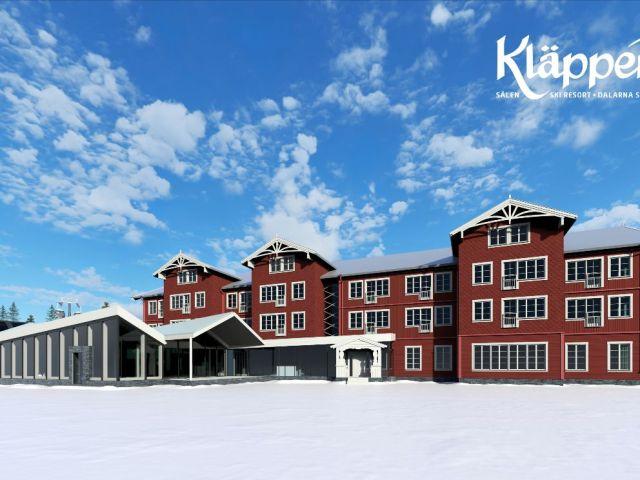 Kläppen åbner den 13. december. Nyt hotel den 1. februar