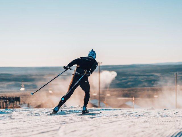 Hemmeligheden bag tidlig åbning i Idre Fjäll er sne fra sidste år