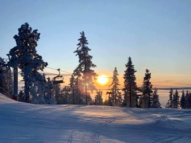 Nyt svensk skiområde er åbnet