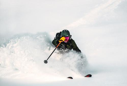 Over en mester sne i Hemavan