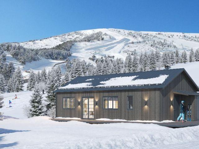 Nye autentiske hytter i Kungsberget