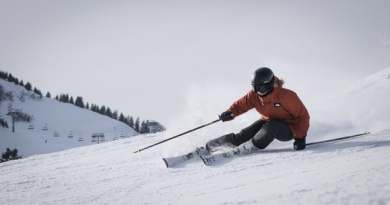 Yoga kan forbedre din smidighed og gøre dig bedre til at stå på ski.
