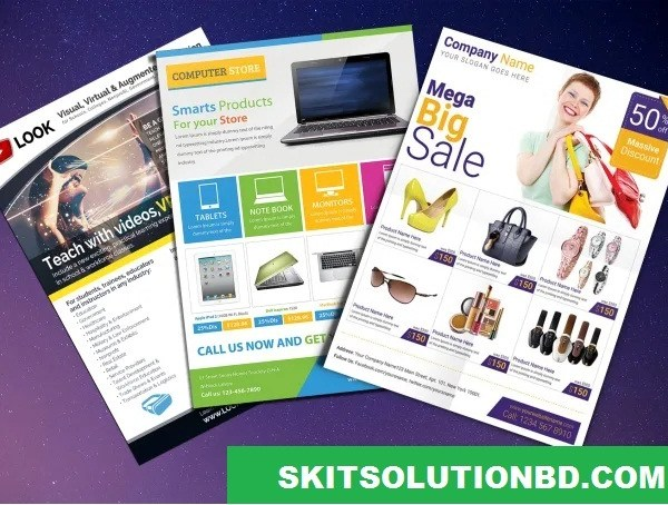 Product Catalog Promotional Flyer