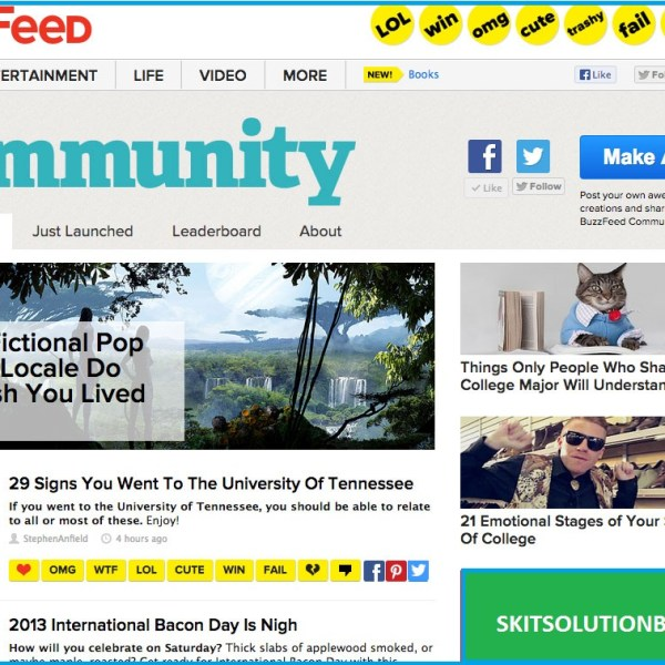 Write for community Websites