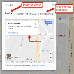 Google Map Embeds