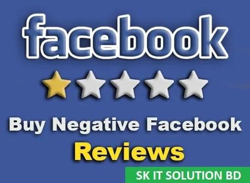 Negative Facebook Reviews