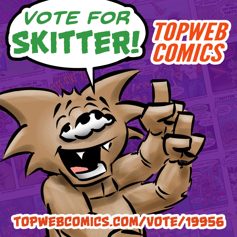 INSTAGRAM_Vote – SKITTER Comic Strip