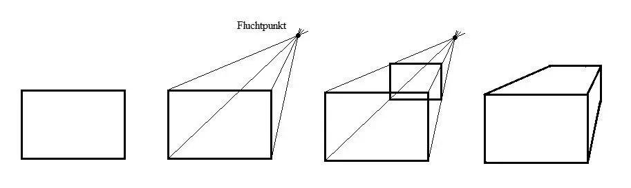 anleitung zum zeichnen von 3d objekten vorlagen zeichnungen und anleitungen. Black Bedroom Furniture Sets. Home Design Ideas