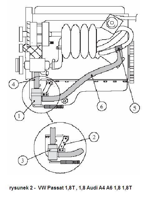 Grzałka silnika Defa VW Passat 1,8T Audi A4 A6 1,8 1,6 1
