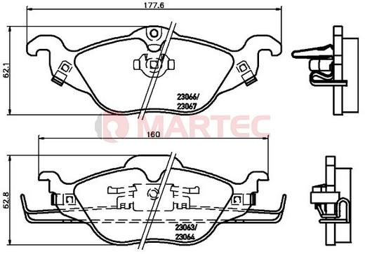 Klocki Hamulcowe Opel ASTRA G 1998-2009r [oś przednia