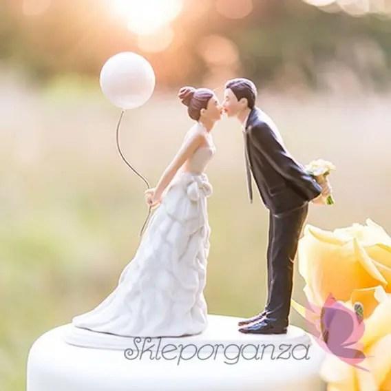 Figurki na tort Porcelanowa figurka na tort  Balon