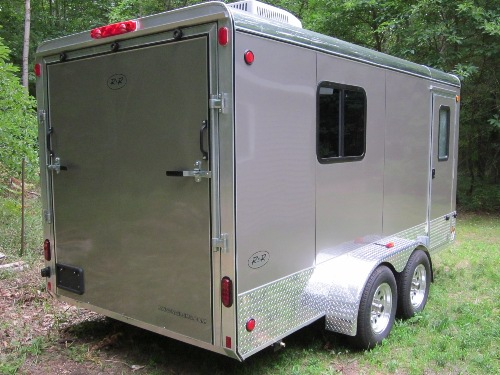 Steve  Kathys Website Our cargo trailer camper
