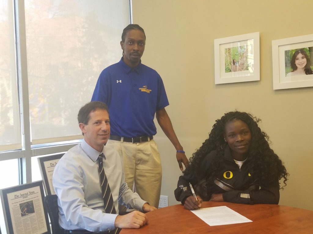 Monroe College Susan Ejore Signs National Letter Of Intent With The  University Of Oregon